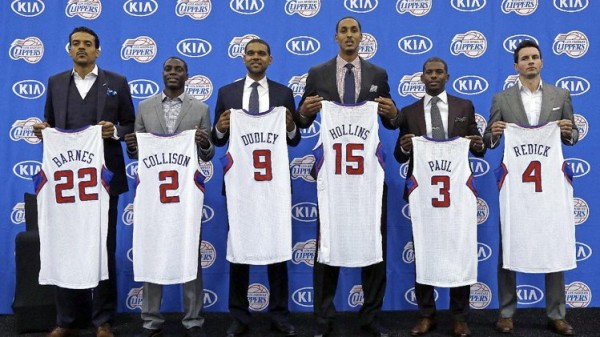 Clippers new signings