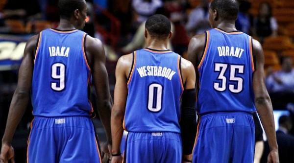 Durant, Ibaka, Westbrook