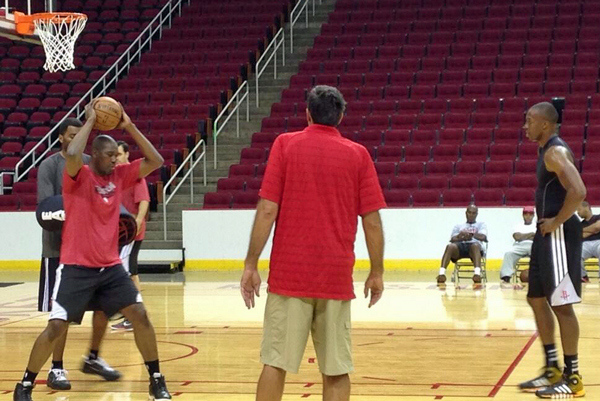 Dwight Howard With Olajuwon & McHale