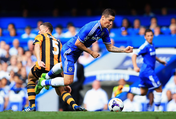 Fernando Torres Dive