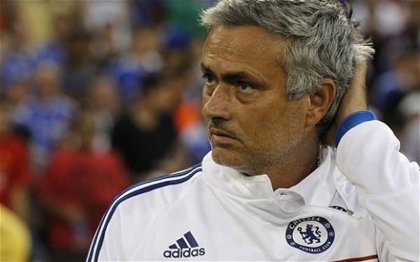 Jose MOurinho scratching his head