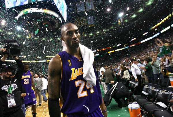 Kobe Bryant & Lakers lose to Celtics