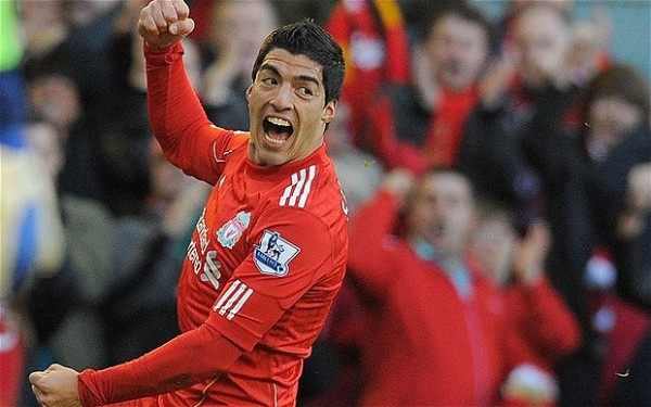 Luis Suarez Happy