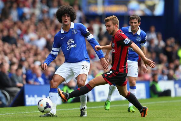 Marouane Fellaini Everton