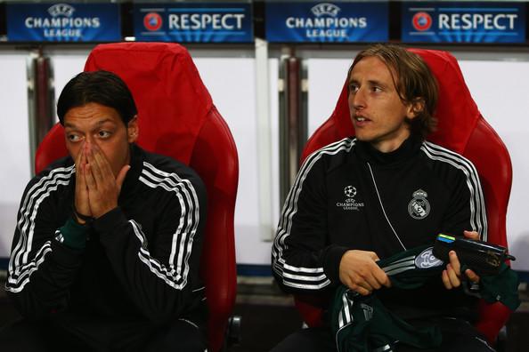 Mesut Ozil, Luka Modric