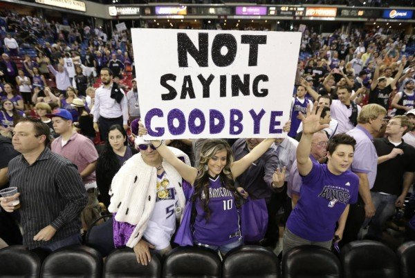 Not Saying Goodbye to the Sacramento Kings