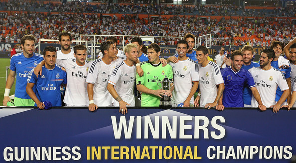 Real Madrid Winners