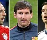 Ribery, Messi, Ronaldo