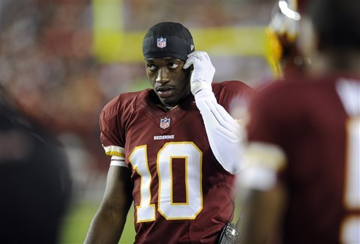 Robert Griffin III Waiting