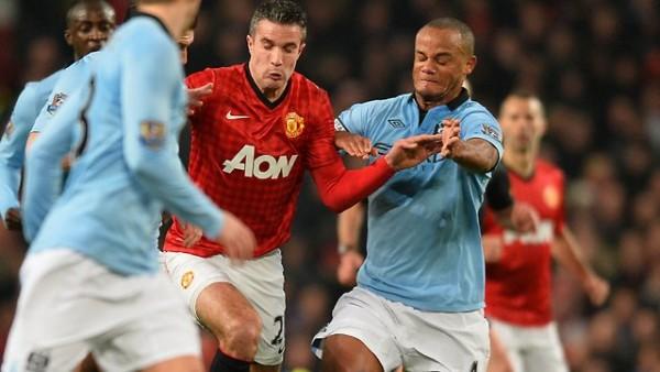 Robin van Persie vs Manchester City