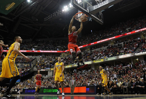 Rose Dunk vs Pacers