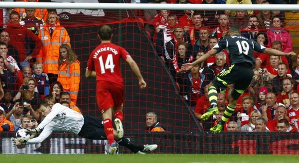 Simon Mignolet Stops Penalty
