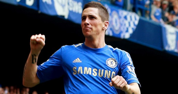 That rare moment when Torres scores