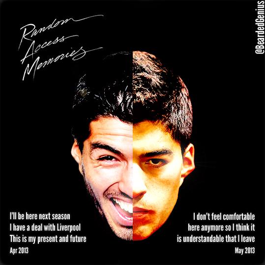 Two-Face Luis Suarez