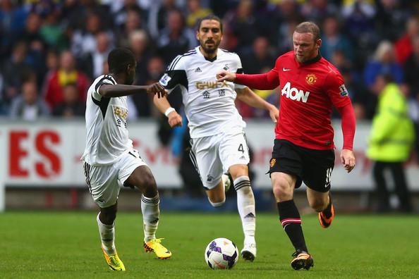 Wayne Rooney vs Swansea