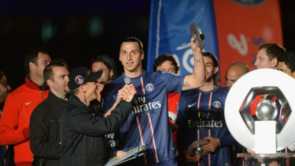 Zlatan Ibrahimovic champion