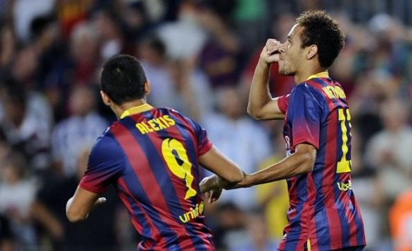 Alexis, Neymar