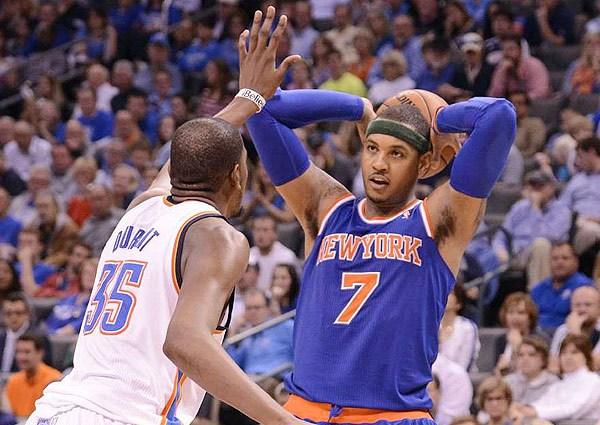 Anthony vs Durant