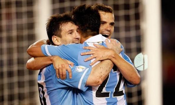 Argentina Beat Paraguay