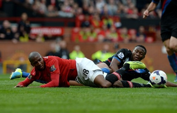 Ashley Young after the dive