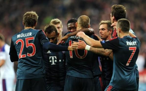 Bayern BEat CSKA