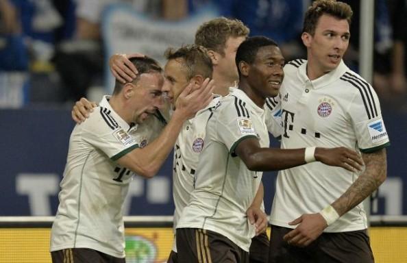 Bayern Schalke 4-0