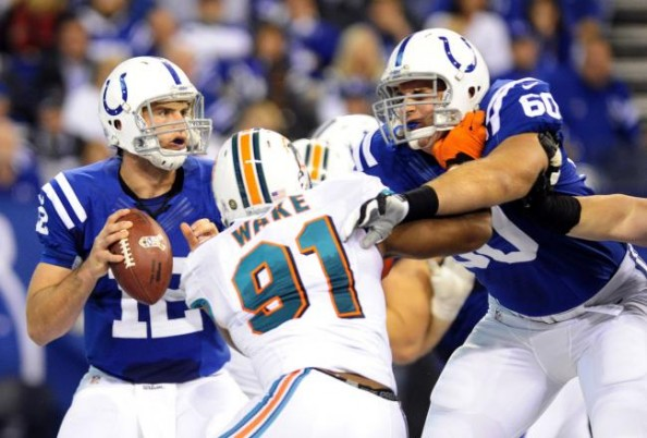 Cameron Wake vs Andrew Luck