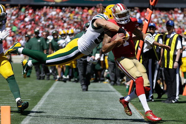Clay Matthews Colin Kaepernick Too Many Blown/Missed Calls in Week 1