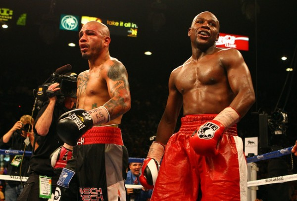 Cotto vs Mayweather
