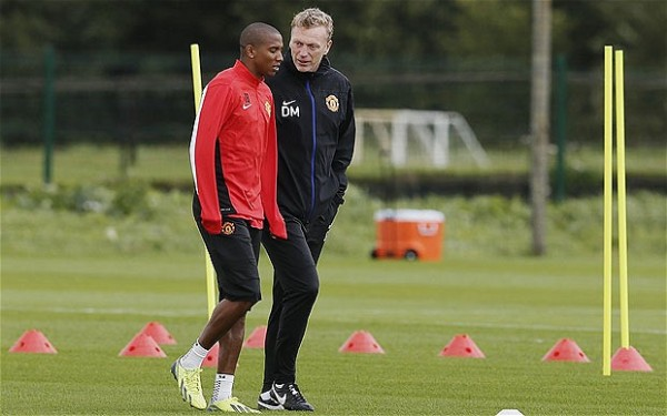 David Moyes, Ashley Young
