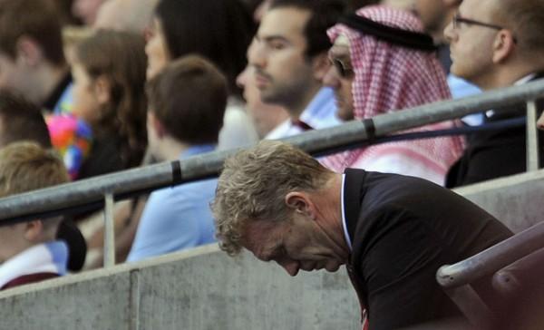 David Moyes Unhappy