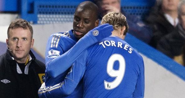 Demba Ba, Fernando Torres