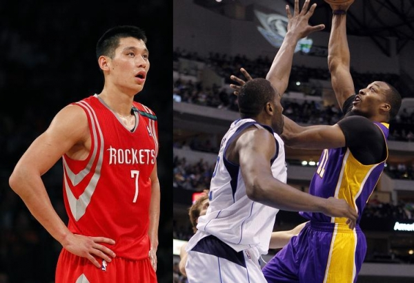 Dwight HOward, Jeremy Lin