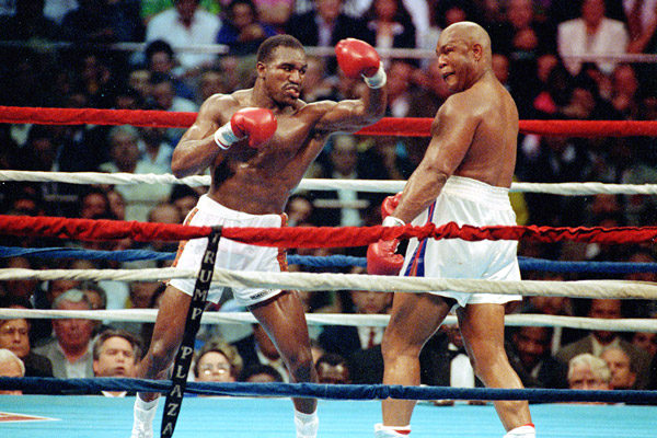 Evander Holyfield vs George Foreman Most Watched PPV Fights in Boxing History