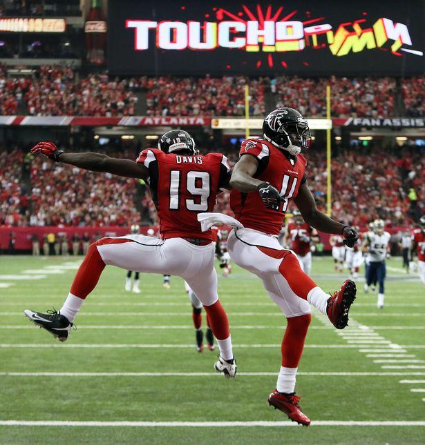 Falcons Touchdown