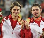 Federer Doubles Gold