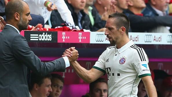 Franck Ribery, Pep Guardiola
