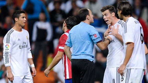 Frustrated Real Madrid