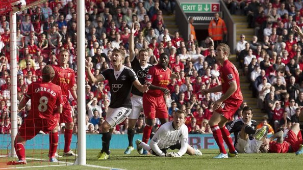Gerrard can't save Liverpool
