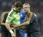 Iker Casillas injured