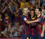Iniesta, Messi, Neymar