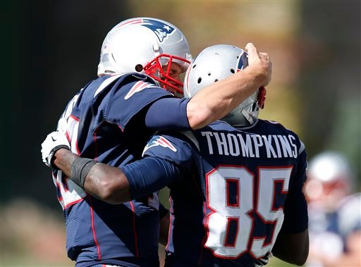 Kenbrell Thompkins, Tom Brady