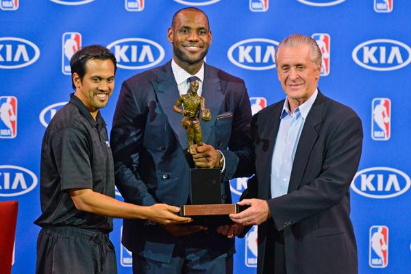 LeBron James MVP