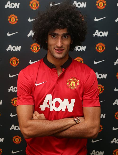 Marouane Fellaini Man U English Premier League 2013 Summer Signings