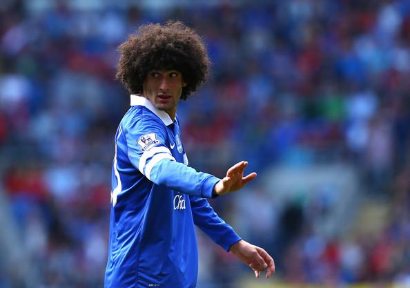 Marouane Fellaini vs Cardiff