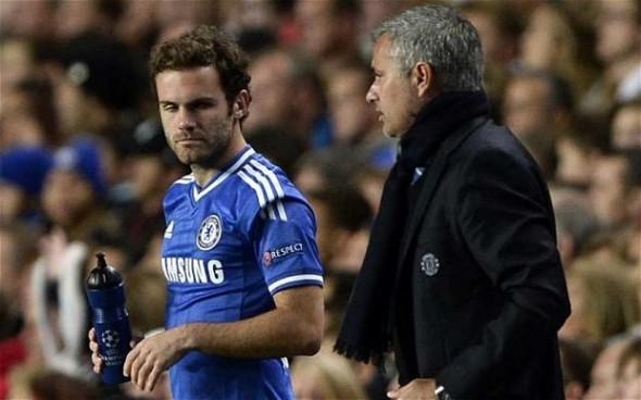 Mata vs Mourinho