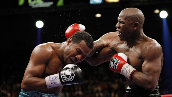 Mayweather vs Mosley e1379771502367 Most Watched PPV Fights in Boxing History