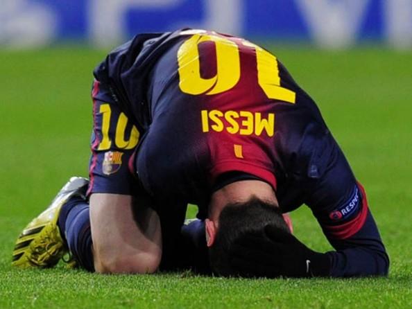Messi Hurt