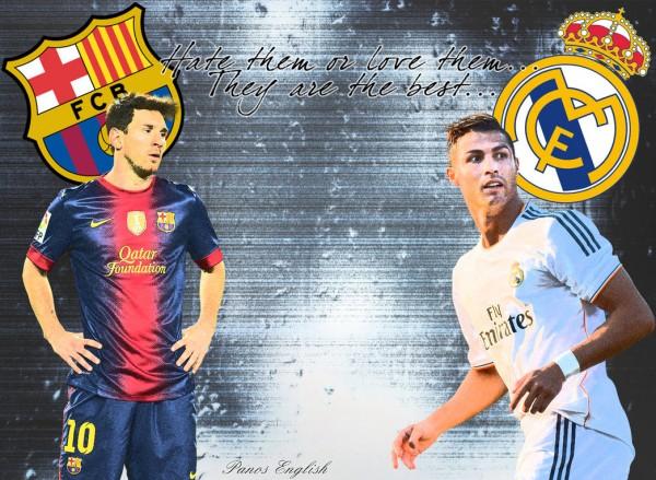 Messi & Ronaldo Art