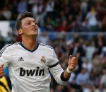 Mesut Ozil Happy